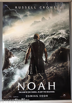 Cinema Poster: NOAH 2014 (Advance One Sheet) Russell Crowe Anthony Hopkins
