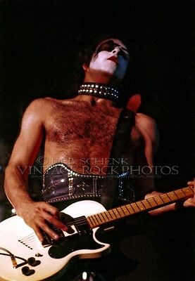 Paul Stanley KISS Photo 8x10 or 8x12 inch Live Concert 1975 Memorial Hall KC D9