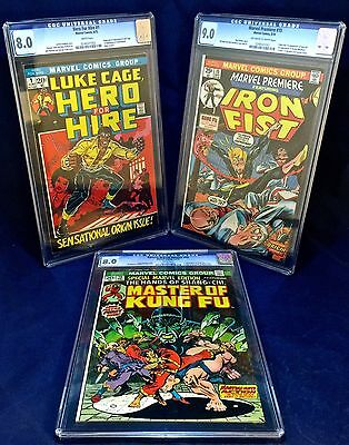 Hero for Hire #1 Speical Marvel Edition #15 & Premiere #15 CGC lot set Key Issue