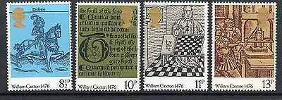GB 1976 500th aniversary of British Printing unmounted mint set stamps