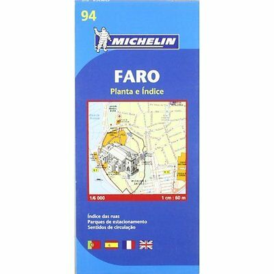Faro City Plan Michelin Editions des Voyages Sheet map, folded 9782067140813
