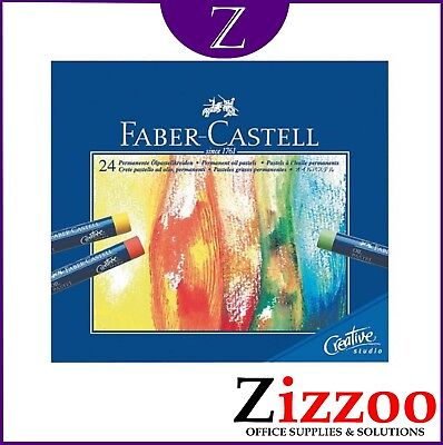 24 X Soft Pastels By Faber-Castell - Mixed Colours - Great Product + Free P&p!