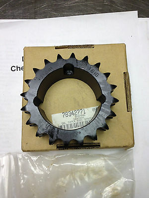 Browning D40TB20 Taper Bore Sprocket,   2 Strand, 20 teeth, No. 40 chain