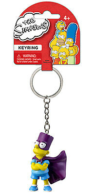 The Simpsons Bartman 3-D Mini-Figure Keyring/Key Chain (Brand new!)