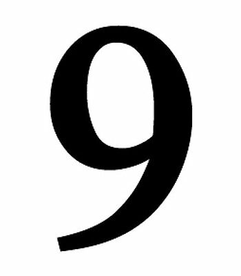 "New Large Black Metal 12"" HOUSE NUMBERS Wrought Iron Signage for Home Address"