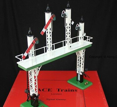 ACE Trains ACS/1, O Gauge, Tinplate Signal Gantry Home