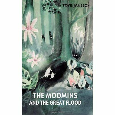 The Moomins and the Great Flood Tove Jansson Sort Books HB 9781908745132