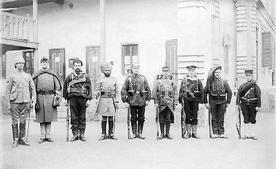 Boxer Rebellion China Eight Nation Alliance Troops 1900 7x4 Inch Reprint Photo