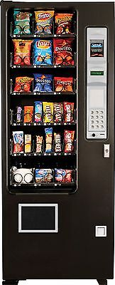 Glass Front Snack Vending Machine Slim Gem Brand New 3 Wide AMS-MADE IN AMERICA