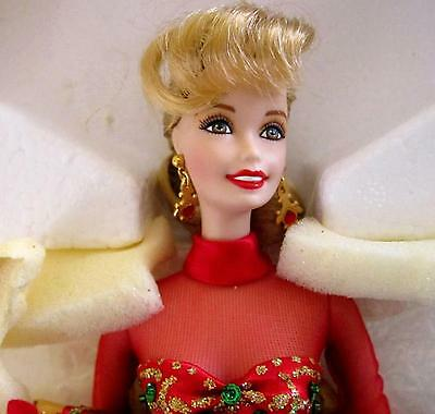 Holiday Gift Porcelain Barbie Doll 1998 View Photos Bottom Of Page