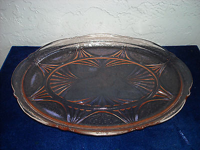 Royal Lace Platter #1  Pink