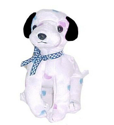 TY Beanie Baby - DIZZY the Dalmatian (colored spots & black ears)