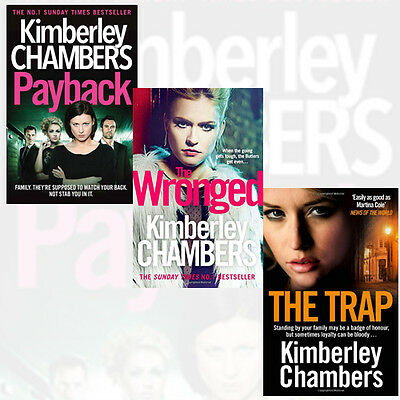 Kimberley Chambers Collection Butlers series 3 Books Set Pack The Wronged NEW PB