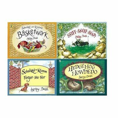 Lynley Dodd Collection 4 Books Set (Picture Puffin, Hairy Maclary and Friends)
