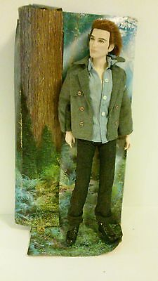 NEW Twilight BARBIE collector pink label Edward Doll.