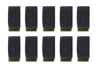 Wholesale price! Lot of 10 Pool Black 12 Layers Cue Tips 14 MM Soft or Medium