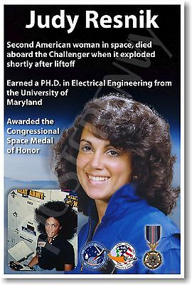 Judy Resnik - NEW NASA American Astronaut Space Exploration POSTER