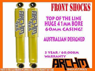 "TOYOTA LANDCRUISER 80,100,105 6"" LIFT FRONT 41mm BORE FOAM CELL ARCHM4x4 SHOCKS"