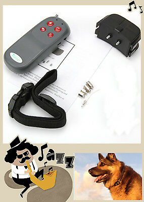 Pet Dog Obedience Training Collar Stop Anti Bark Electric static remote 4in1