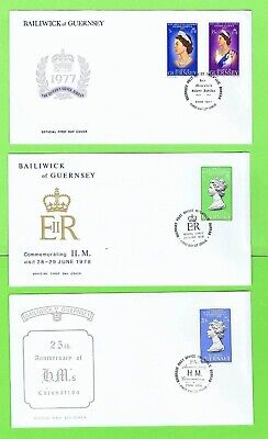 Channel Islands Collection of twelve Royalty Thematic Covers