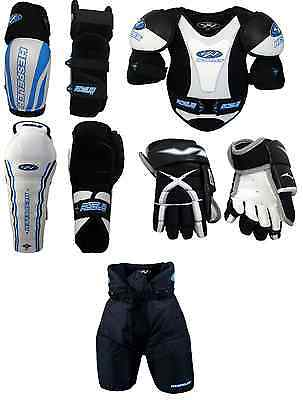 Junior Large Ice Hockey Protective Gear Kit Set Child Equipment Package New