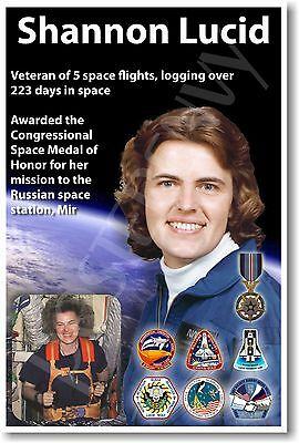 Shannon Lucid - NEW NASA American Woman American Astronaut Space POSTER