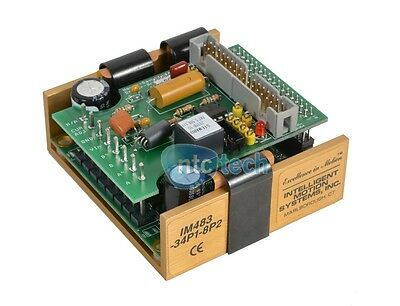 New Intelligent Motion Systems IM483-34P1-8P2 Drive Microstepping 48VDC