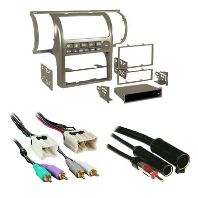 Metra 99-7604T Tan Single/Double DIN Combo Dash Kit for 2003-2004 Infiniti G35