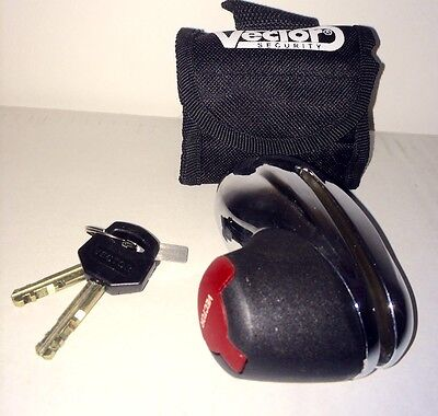 VECTOR MINI DISC LOCK 5MM PIN. Motorcycle, Scooter