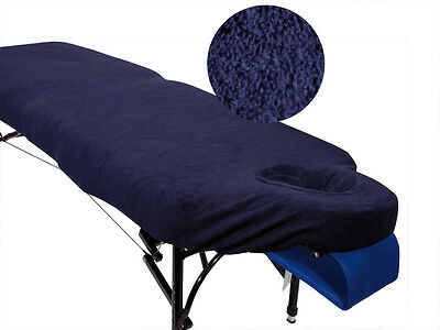 Blue Couch Cover for Massage Table with Breathe Hole