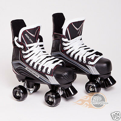 Bauer Vapor X200 Quad Roller Skate, Playmaker Conversion, Ventro Wheels