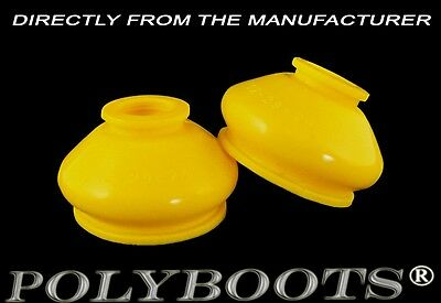 2x Polyboots Tie Rod End Dust Boots 12x29x24 mm Polyurethane Ball Joint Boots