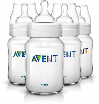 Avent Classic Feeding Bottle 260Ml 4 Pack