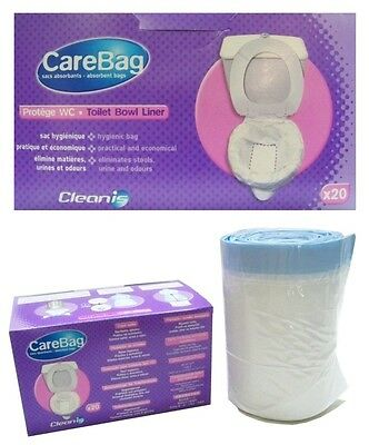 Toilets Pouch For Camping Chemical toilet caravan mobile home Boat Car Holiday
