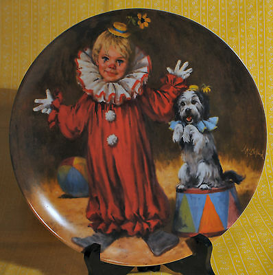 Knowles Tommy The Clown Plate