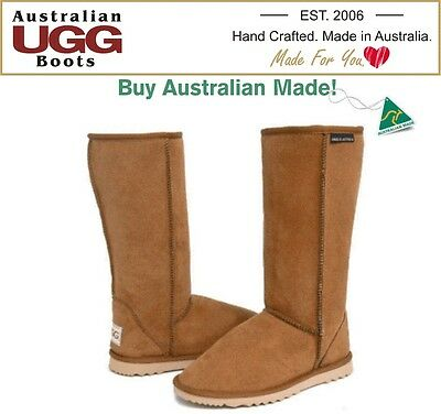 UGG BOOTS -100% Australian Made Classic Tall | Long Ugg Boots. 16 Colours.