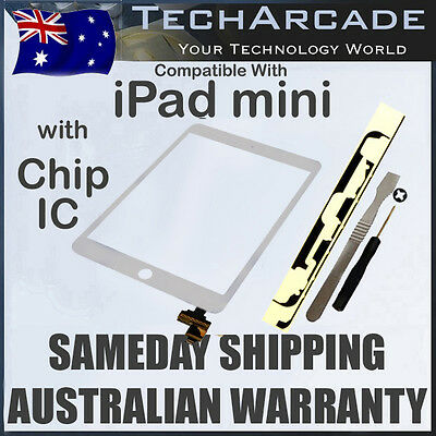 iPad Mini 1 2 First Second Air Gen White Touch Screen Glass Digitizer IC Chip