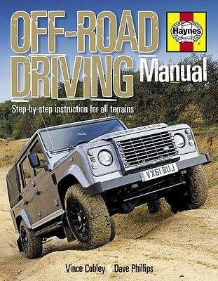4x4 Off-Road Driving Techniques Land Rover Haynes Manual H5373 NEW