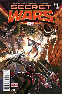 Secret Wars #1 (2015) 100 copy lot for CGC Submission, High Investment Potential