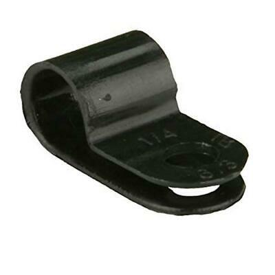 The Install Bay by Metra BCC38 Black 3/8' Cable or Wire Clamps (100/pack)