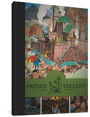 Prince Valiant, Volume 2: 1939-1940 by Hal Foster (English) Hardcover Book Free