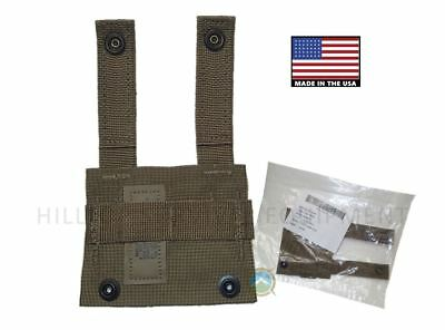 US Military MOLLE K-Bar Adapter  - New in bag -  Coyote Brown / Tan Kbar Adapter