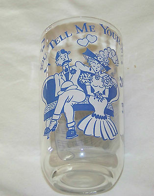 Vintage: SONG LYRICS Glass - YOU TELL ME YOUR DREAM