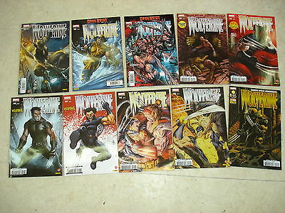 WOLVERINE n°191 à 200  Lot de 10 comics