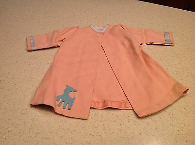 "Vintage Terri Lee Doll Clothes Fits 16"" Doll Salmon Colored Jacket Coat Cape"