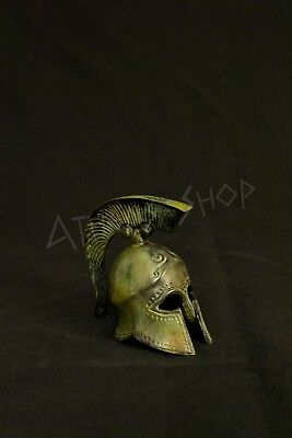 Bronze Spartan Officer Helmet