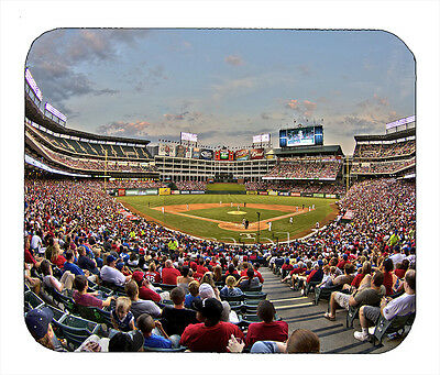 Item#1609 Ballpark in Arlington Wide Angle Texas Rangers Mouse Pad