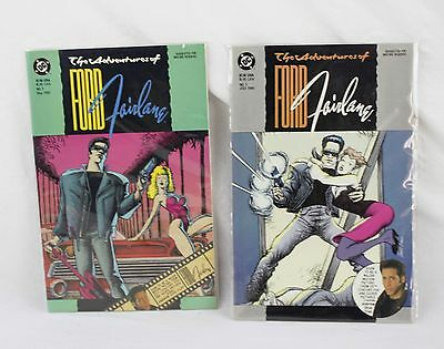 Lot of 2 DC Comics The Adventures Of Ford Fairlane #1 May 1990 & 3 July 1990