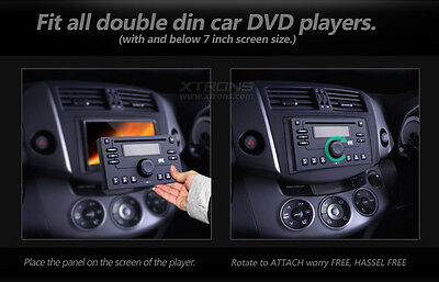 """Universal Detachable Dummy Security Face Panel Cover for 2 DIN 7"""" Car DVD Player"""
