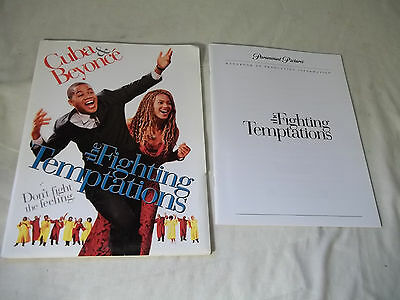 MOVIE PRESS KIT The Fighting Temptations CUBA Gooding Jr. & Beyonce